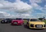 Битва трех Audi: спорткар vs универсал vs седан