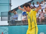 Сборная Украины по пляжному футболу выиграла этап Евролиги